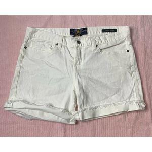 NWT LUCKY BRAND Abbey Short Cut Off Jean Shorts 26